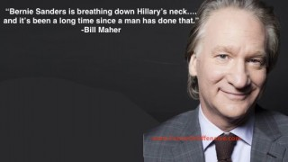 Bill Maher on Bernie and Hillary