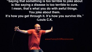 Louis CK on the Power of Humor