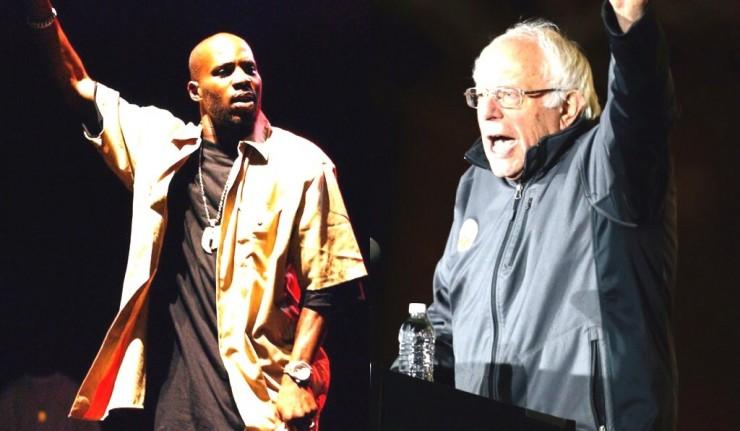 Bernie Sanders Uses Profanity-Laced DMX Song at Rally