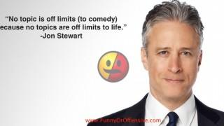 Jon Stewart on Comedy