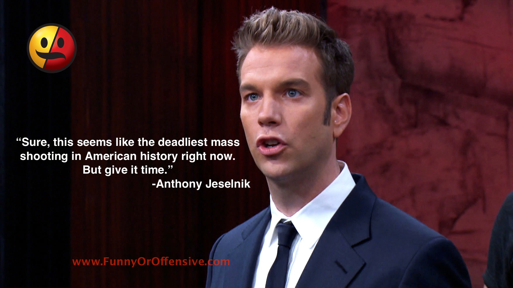 Anthony Jeselnik on Orlando Shooting