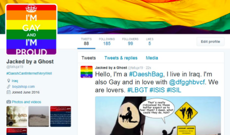Hackers Hijack ISIS Twitter Accounts With LGBT Pride
