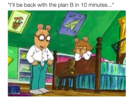 Arthur the Aardvark Gets Adult Meme Makeover