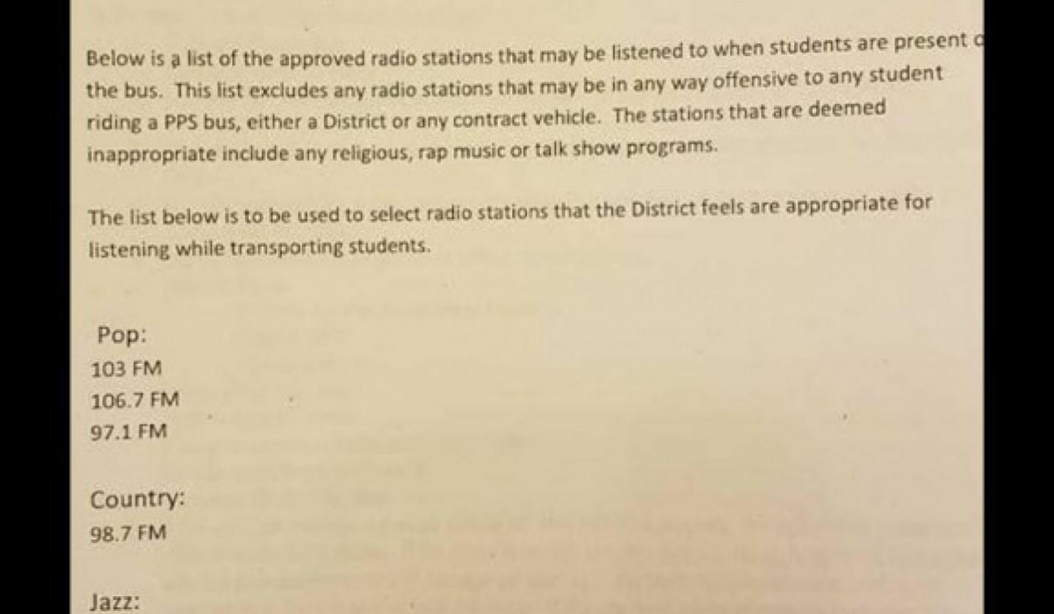 Parents Say Portland School Bus Ban On Rap Music Is Racist
