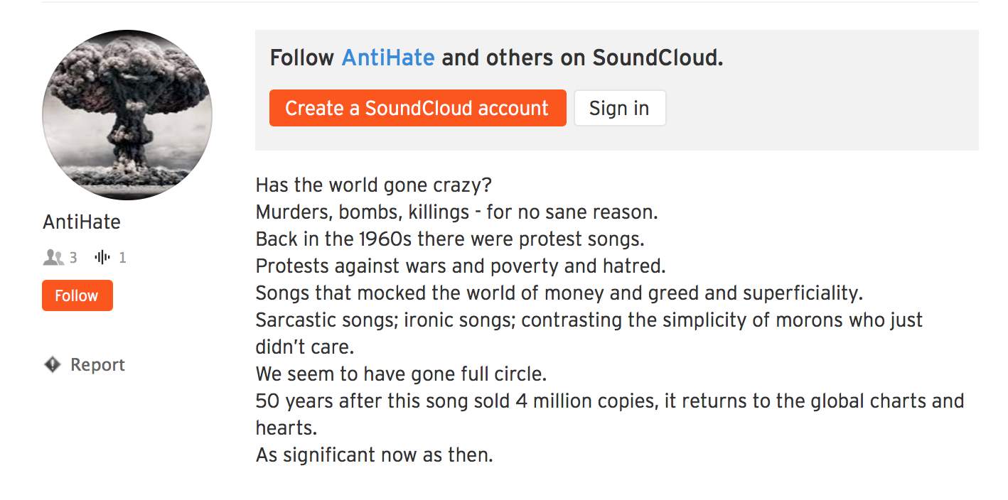 iTunes Demands Musician Change Stage Name From 'IHateIsis' To 'AntiHate'