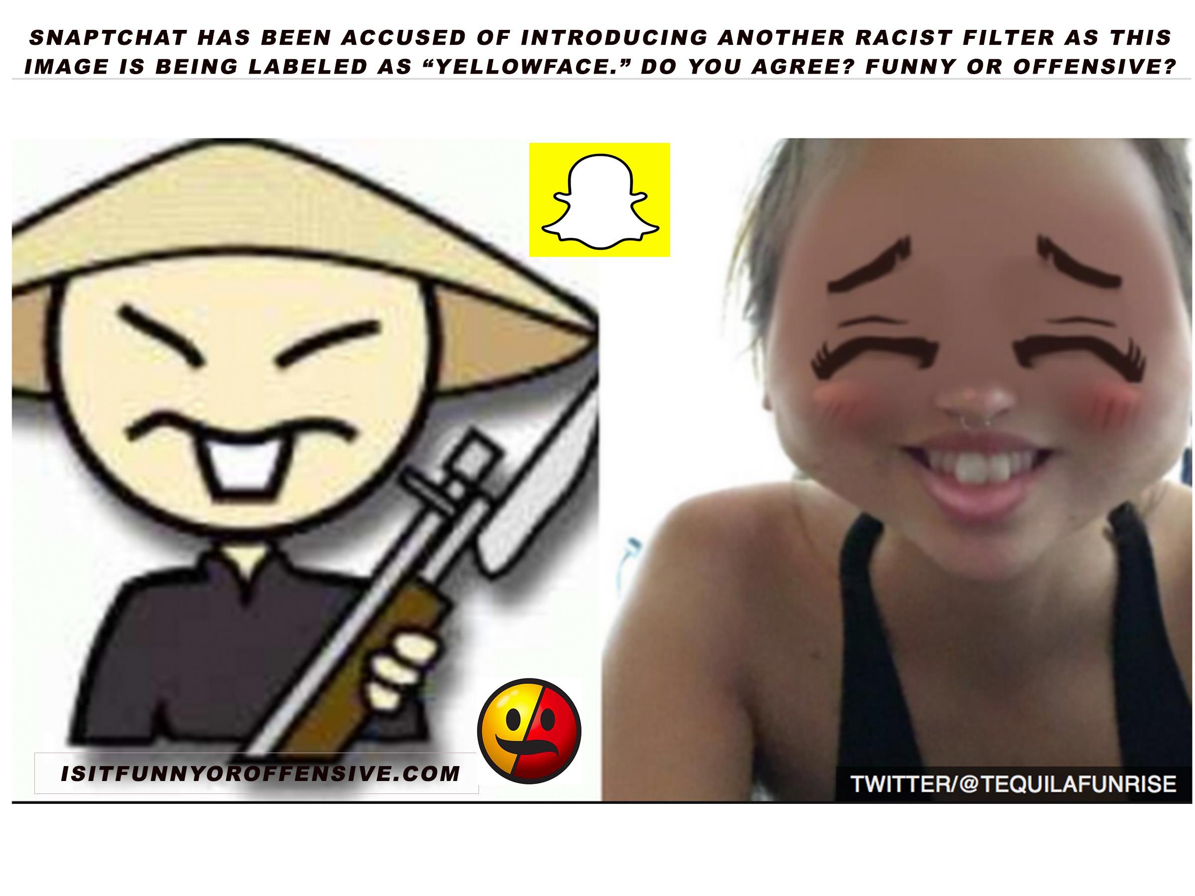 anime-inspired Snapchat filter