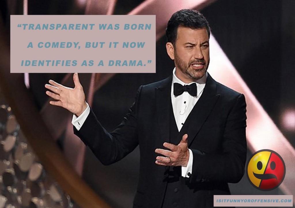 Tina Fey Gives Award Winning Reaction After Jimmy Kimmel's Bill Cosby Joke