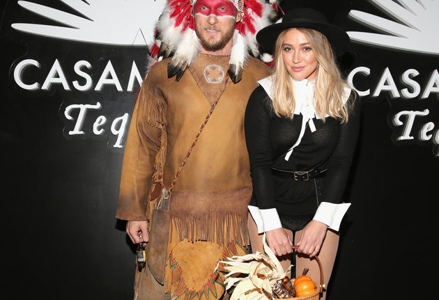Hilary Duff Apologizes For Pilgrim, Native American Halloween Costumes