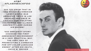 "A Look Back On Lenny Bruce's ""Offensive"" Comedy"