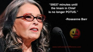 Roseanne Barr on President Barack Obama