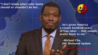 Michael Che on Black Santa