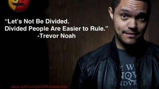 Trevor Noah on Being Divided