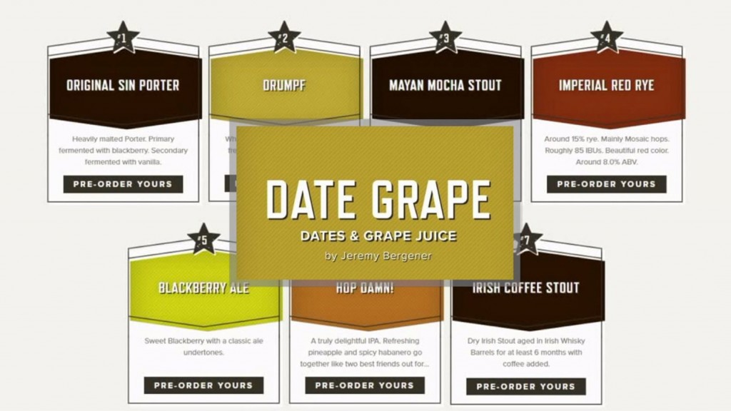 """Brewery Apologizes For """"Date Grape"""" Beer"""