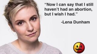 Lena Dunham on Abortion