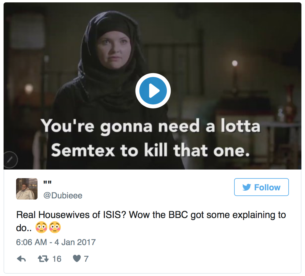 "You Can Now Watch ""The Real Housewives of Isis"" On BBC Two"
