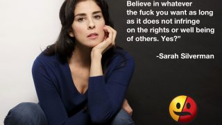 Sarah Silverman on Beliefs and Rights