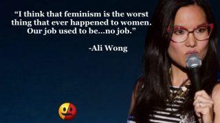 Ali Wong on Feminism