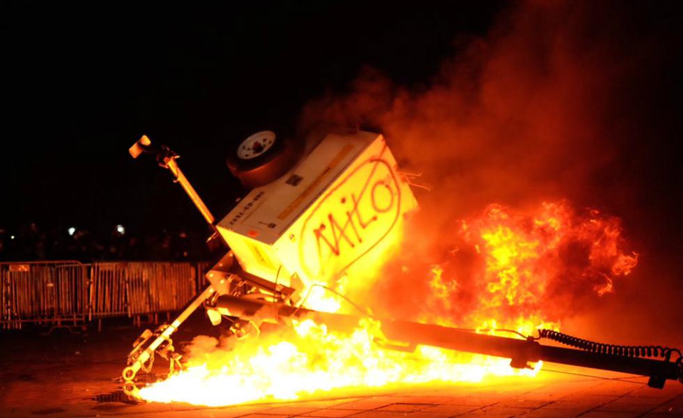 UC Berkeley Erupts over Milo Yiannopoulos Visit