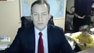 BBC Interview Goes Wrong When Kids Crash Dad's Home Office