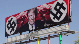 Trump Swastika Billboard Divides Arizona Residents
