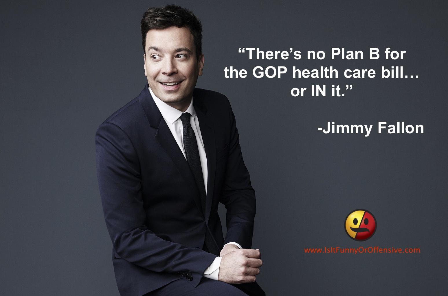 Jimmy Fallon on TrumpCare