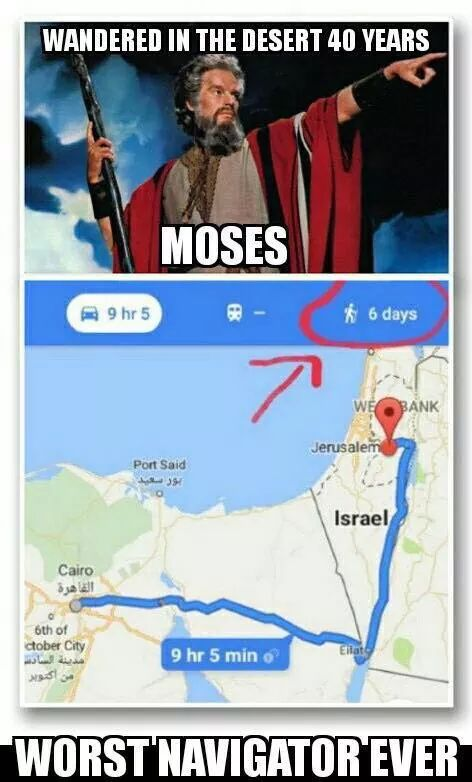 GPS - Is It Funny or Offensive?