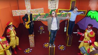 Macaulay Culkin as Kurt Cobain Gets Crucified In New Father John Misty Video