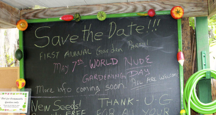 Suns Out, Buns Out: World Naked Gardening Day Is May 6th