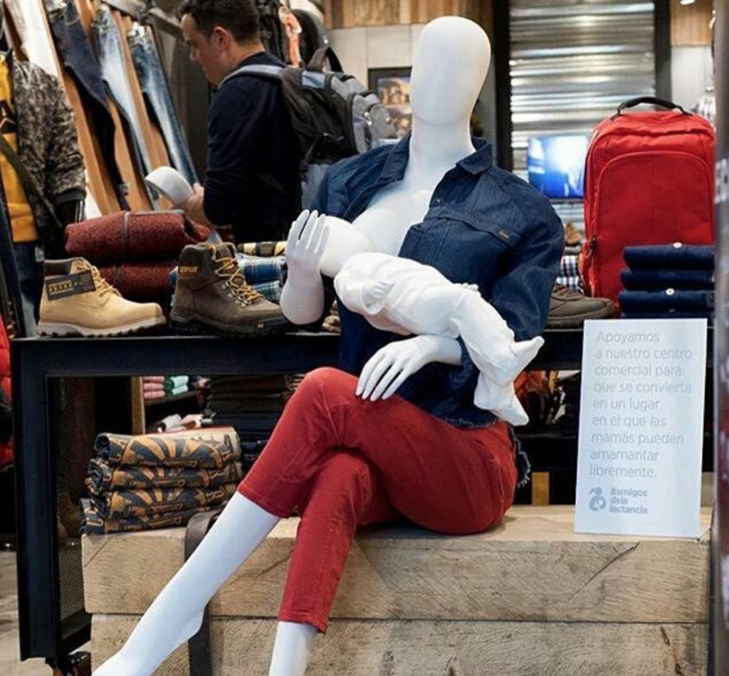 Columbia Mall Uses Breastfeeding Mannequins To Destigmatize Nursing In Public