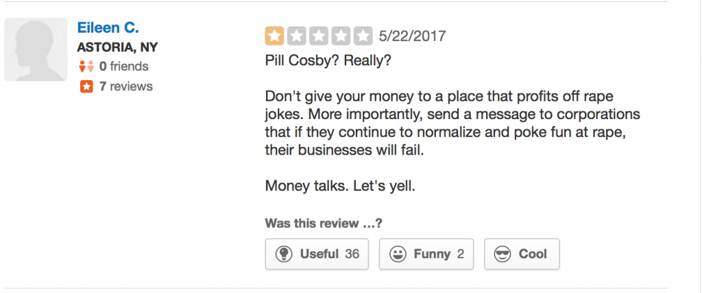 """D.C. Bar Ditches """"Pill Cosby"""" Drink After Public Outrage"""