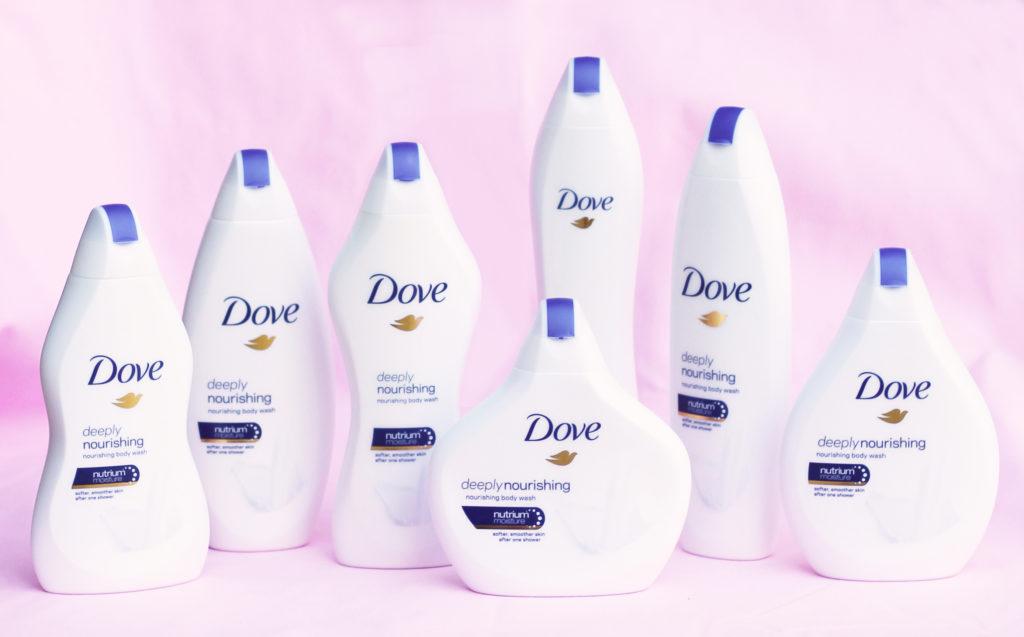 Dove Body Wash Bottles Women's Bodies