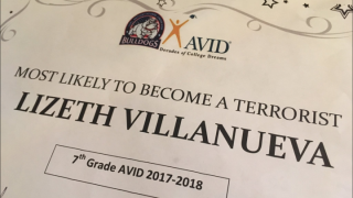 "7th Grade Student Received ""Most Likely To Become A Terrorist"" Award"