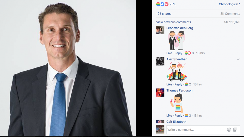 Anti-LGBT Politicians Trolled By Facebook Pride Button