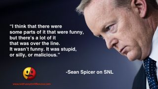 Sean Spicer on SNL
