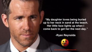Ryan Reynolds Dad Joke