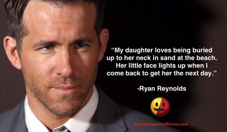 Ryan Reynolds Dad Joke