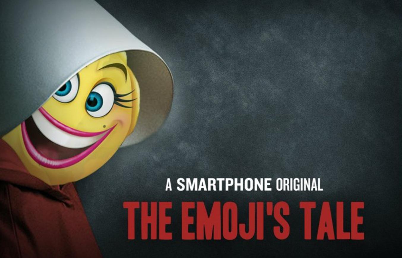 'The Emoji Movie' Slammed For 'The Handmaid's Tale' Mashup