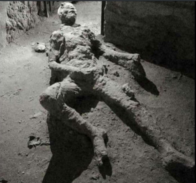 "Jokes Erupt Over ""Masturbating Man"" Preserved At Pompeii"