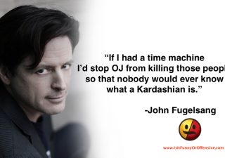 John Fugelsang on OJ Simpson