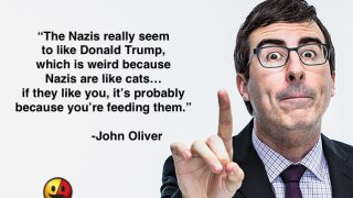 John Oliver on President Trump and Nazis