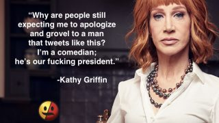 Kathy Griffin Reflects on Trump Beheading Joke