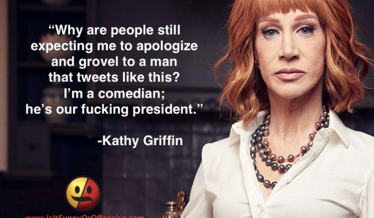 Kathy Griffin Reflects on Trump Beheading Joke
