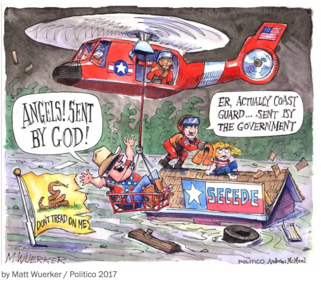 Charlie Hebdo Cover Labels Hurricane Victims As Neo-Nazis