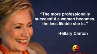 Hillary Clinton on the Likability of Successful Women
