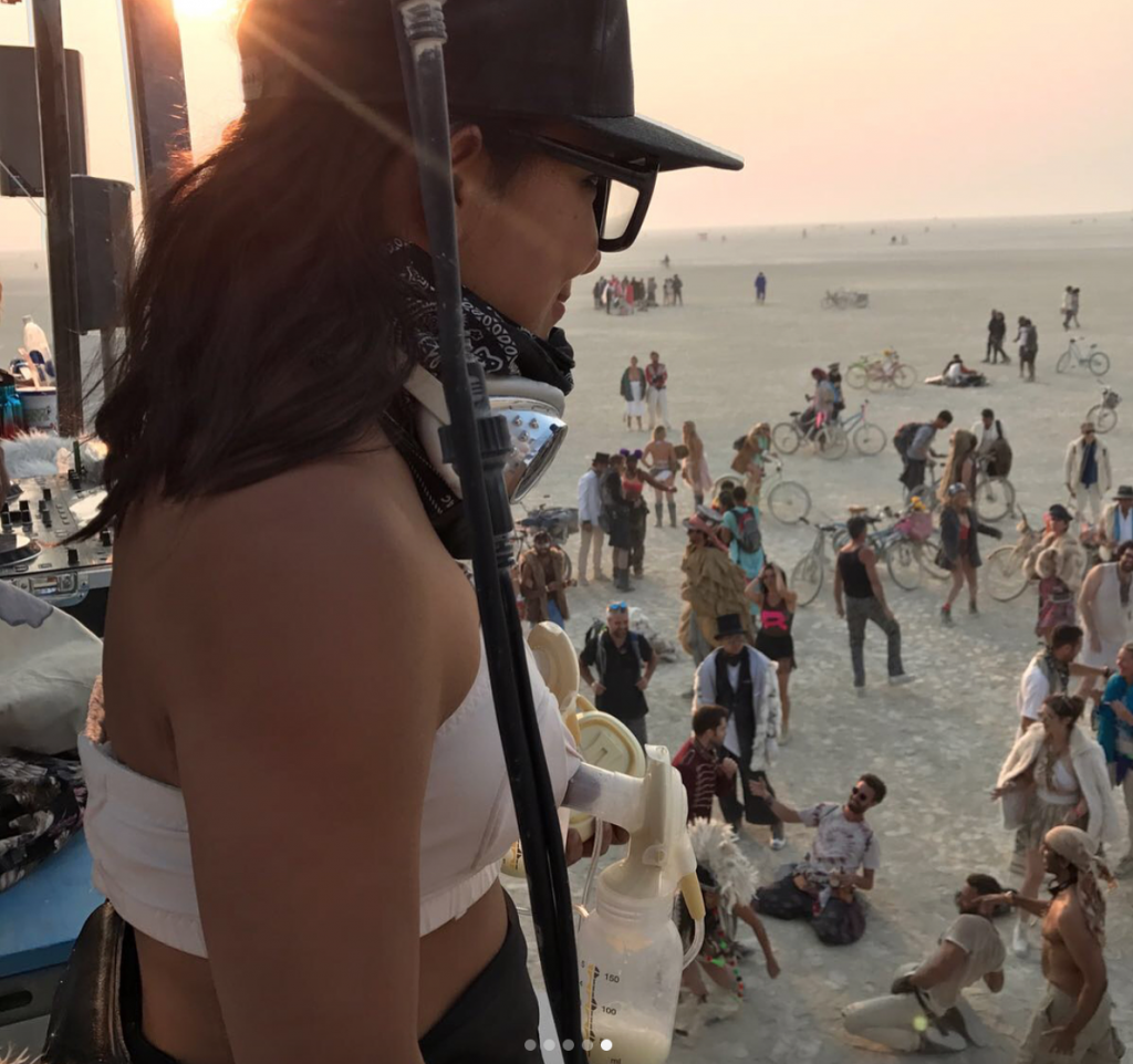 Breast Milk Giveaway At Burning Man