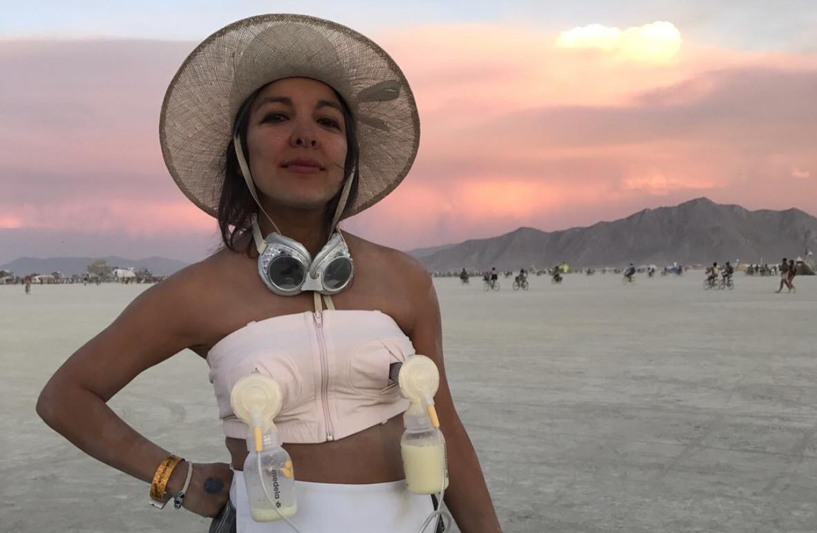 Breast Milk Giveaway At Burning Man