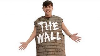 """The Wall"" Halloween Costume"
