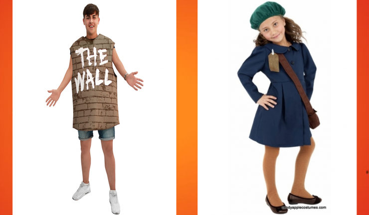 Anne Frank, 'The Wall' Halloween Costumes Cause Uproar Online
