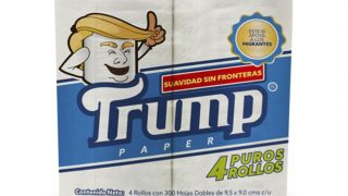 Trump Toilet Paper Rolls Out In Mexico