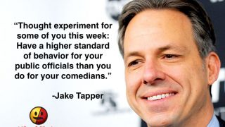 Jake Tapper on Standards of Behavior